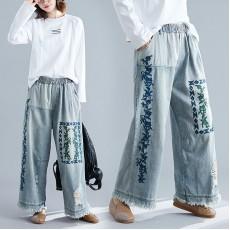 (F9227) 牛仔褲 (大碼款)