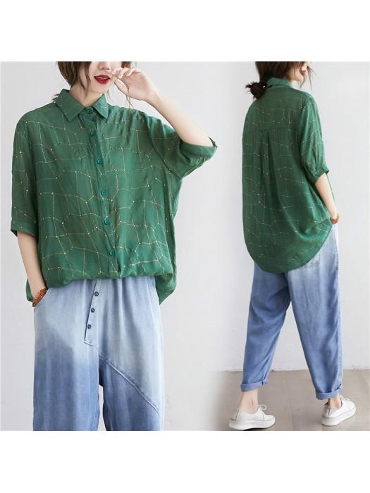 (F9165) 恤衫 (大碼款)