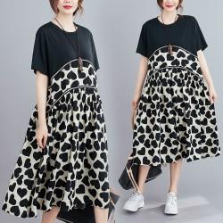 (F9167) 連身裙 (大碼款)
