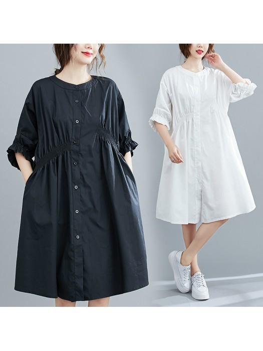 (F9169) 連身裙 (大碼款)