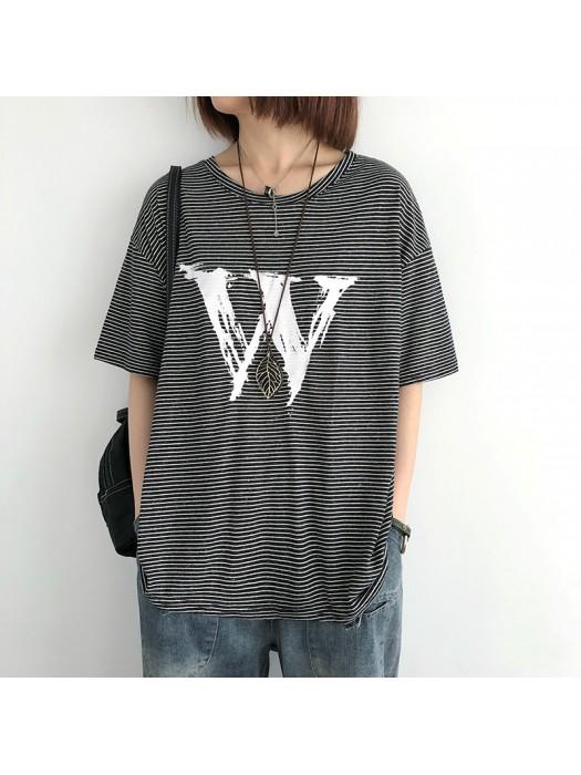 (NA2366) 簡約棉質上衣