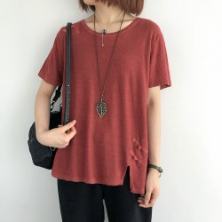 (NA2367) 簡約針織上衣