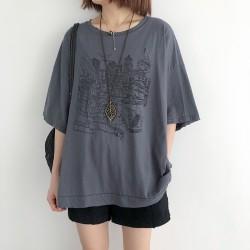 (NA2371) 簡約棉質上衣