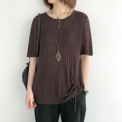 (NA2373) 簡約針織上衣