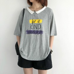 (NA2378) 簡約棉質上衣