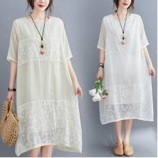 (F9045) 連身裙 (大碼款)