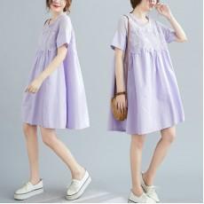 (F9059) 連身裙 (大碼款)