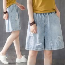 (F9011) 牛仔短褲 (大碼款)