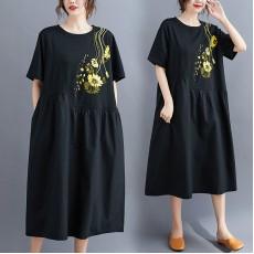 (F9015) 連身裙 (大碼款)