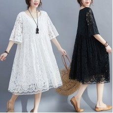(F9016) 連身裙 (大碼款)