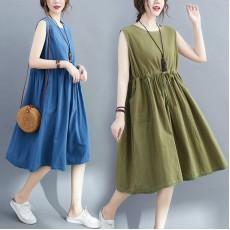 (F9019) 連身裙 (大碼款)