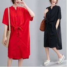 (F9028) 連身裙 (大碼款)