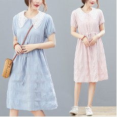 (F8964) 連身裙   (大碼款)