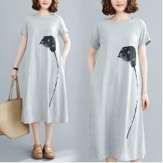 (F8966) 連身裙 (大碼款)