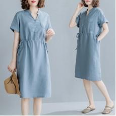 (F8982) 連身裙 (大碼款)