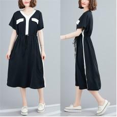(F8984) 連身裙 (大碼款)