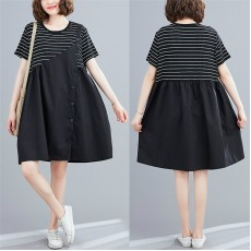 (F8985) 連身裙 (大碼款)