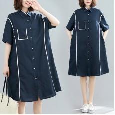 (F8989) 連身裙 (大碼款)