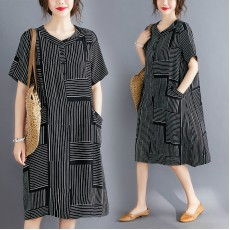 (F8992) 連身裙 (大碼款)