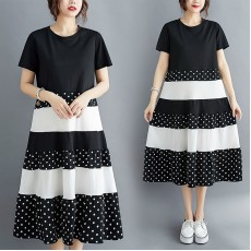 (F8999) 連身裙 (大碼款)