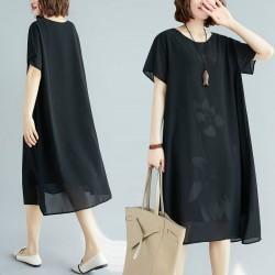 (F8862) 連身裙 (大碼款)