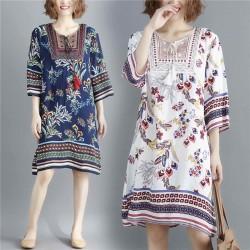 (F8865) 連身裙 (大碼款)