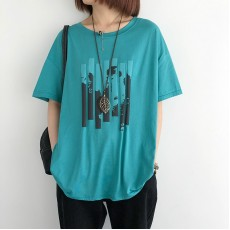 (NA2348) 簡約棉質上衣