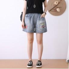 (NA2349) 簡約牛仔短褲