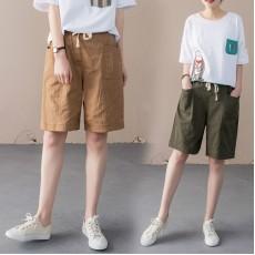 (現貨軍綠M碼)(F8821) 短褲 (大碼款)