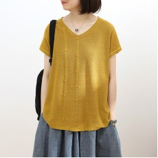 (NA2333) 簡約針織上衣