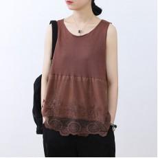 (NA2326) 簡約針織背心上衣