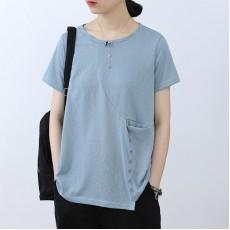 (NA2330) 簡約棉質上衣