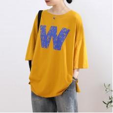 (NA2292) 簡約棉質上衣