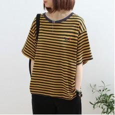 (NA2293) 簡約棉質上衣