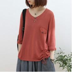 (NA2295) 簡約針織上衣