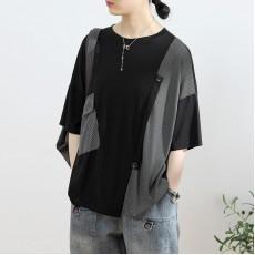 (NA2303) 簡約棉質上衣
