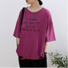 (NA2304) 簡約棉質上衣