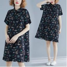 (F8606) 連身裙 (大碼款)