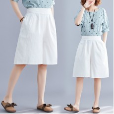 (F8612) 短褲 (大碼款)