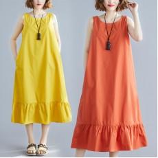 (F8563) 連身裙 (大碼款)
