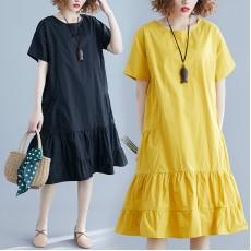 (F8564) 連身裙 (大碼款)