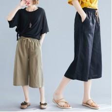 (F8576) 短褲 (大碼款)