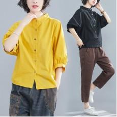 (黃XXL有現貨)(F8531) 恤衫 (大碼款)