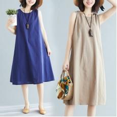 (F8532) 背心連身裙 (大碼款)