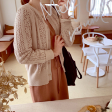 韓國直送leelin 針織外套0322