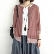 (NA2233) 簡約針織外套