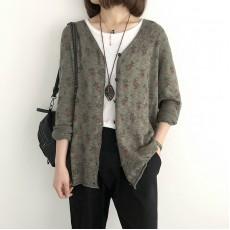 (NA2237) 簡約針織外套