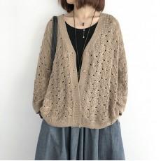 (NA2242) 簡約針織外套