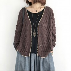 (NA2243) 簡約針織外套