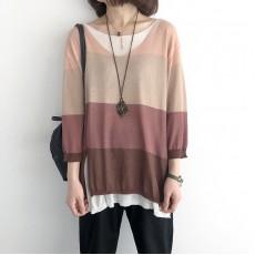 (NA2247) 簡約針織上衣